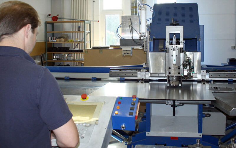 CNC sheet metal processing